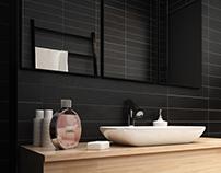 Yin bathroom interior
