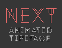 Next Animated Typeface