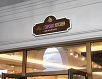 Cupcake kitchen branding