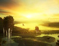 Waterfalls Island