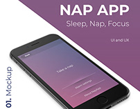 Nap App - UI and UX
