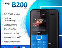 HIQO_Mobile Advertisement Banner Design
