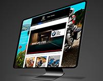 Diseño sitio web RUTA 40 - BMW Motorrad