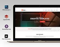 Aton - Multi purpose business psd template
