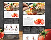 Ristorante website concept