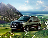 The illustration for Renault Koleos