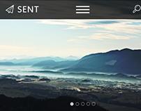 Apple-Inspired Church Website Design