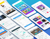 Collection of Mobile App Designs - Volume 1