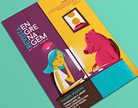 Ilustração para capa da Revista Engrenagem - Edição 2.