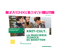 Benetton & Sisley - Fashion news