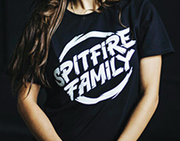 Spitfire Family Logo and Print