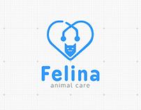 Felina - Veterinary Logo & Stationary Design