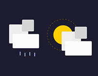 (CSS-only) Weather Icon Set