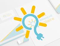 Je suis branché solaire - Branding design