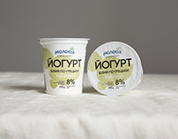 Molokiya. Yogurt packaging