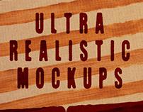 3 FREE Ultra Realistic Mockups