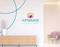 Romasarpi Estética - Identidade visual