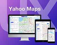 Yahoo Maps Redesign Case Study