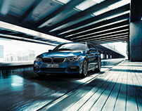 CGI & Postproduction BMW 5er Touring