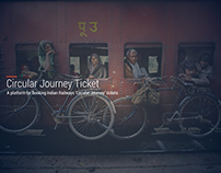 A platform for booking IRCTC 'Circular Journey' Tickets