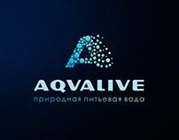 Логотип и фирменный стиль для компании Aqvalive