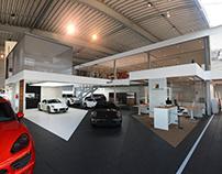 Porche Concept store interior