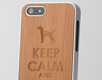 Phone case - Walk the vizsla
