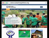 Website Development for CREDIT UNION KASIH SEJAHTERA