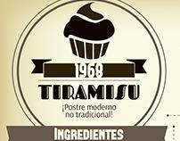 Infografía de Tiramisu