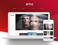 NETFLIX   Redesign,Concept,IOS,UI/UX