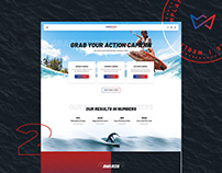 Website templates   extreme sports