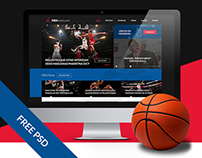 [FREE] Responsive Sport/Basketball Web Design