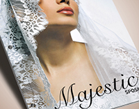 Catalog Design & Shooting / Majestic Sposa