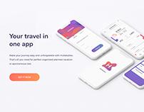 Hullaballoo - traveling app