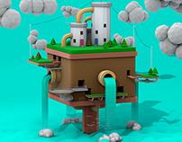 Low Poly Island 2