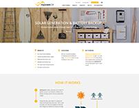 Mypower24 website design