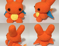 Crochet Charizard - 2nd edition