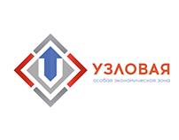 Uzlovaya logo concept