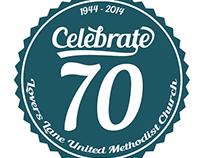 Celebrate 70 event logo