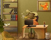 Игра-квест «Коробочные приключения»