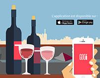 L'application mobile GOOT dédiée au vin