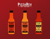 PizzaRev | Hot Sauces | Social Media Campaign