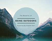 The Benefits of Being Outdoors