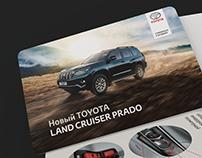Z-card for New Toyota Land Cruiser Prado