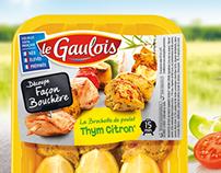 Packaging Le Gaulois été - Gamme Façon Bouchère