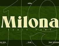 FREE Font: Milona