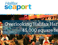 Halifax Seaport website design & development