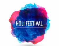 Holi Festival, Party, Event, Celebration & Etc