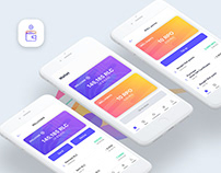 UX/UI Native iOS app / Brand identity /