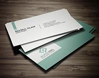 minimalistic corporate business card design